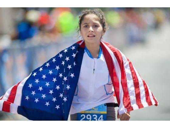 Blanca Ramirez, la doar 12 ani, a alergat 7 maratoane pe cele cinci continente