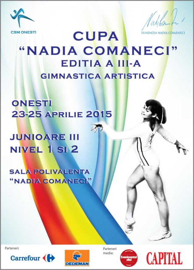 Carrefour Romania sustine Cupa Nadia Comaneci