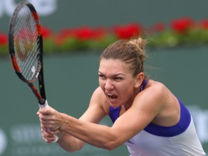 Simona Halep, in optimi la Indian Wells