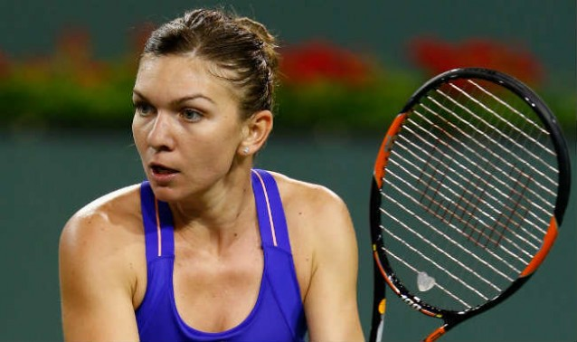 Simona Halep, in sferturile de finala la Indian Wells