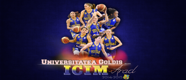 Baschet feminin: Univ. Goldiș ICIM Arad a câștigat Liga Europei Centrale
