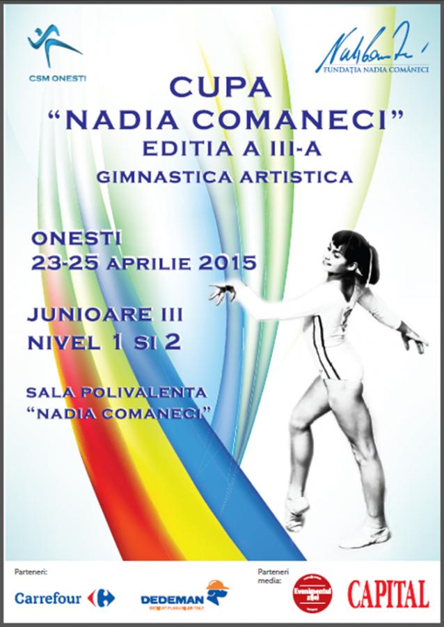 Cupa Nadia Comaneci la gimnastica artistica – editia a III-a