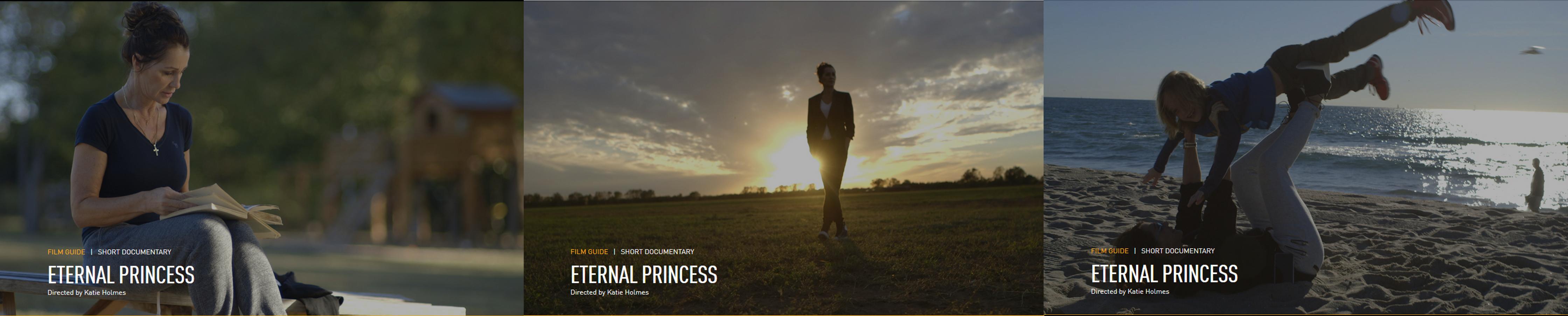 "Nadia Comaneci, protagonsita filmului ""Eternal Princess"""
