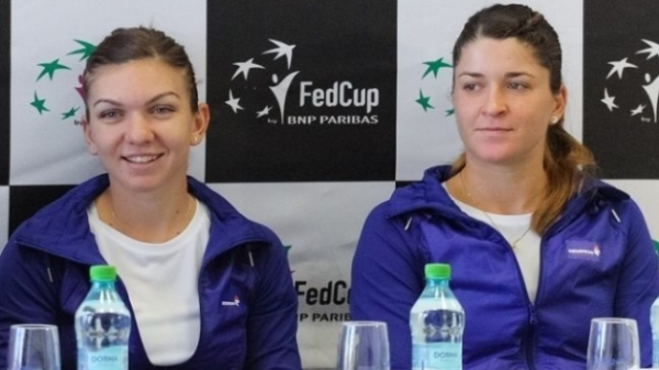 Simona Halep si Alexndra Dulgheru