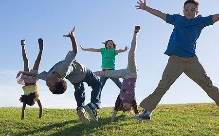 Sport pentru copii la sfarsit de august