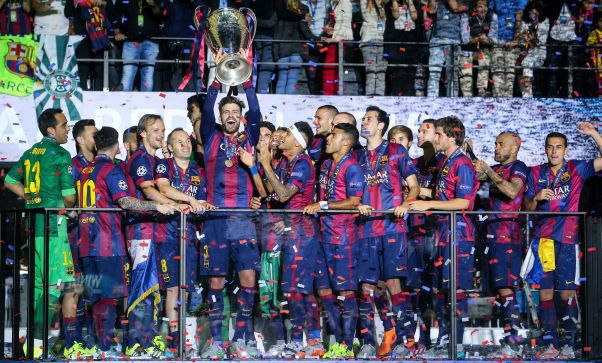 FC Barcelona a castigat ce-l de-al cincilea trofeu al Ligii Campionilor