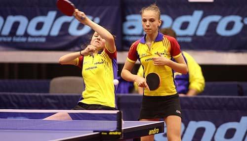 Romania - 14 medalii la Campionatele Europene de tenis de masa