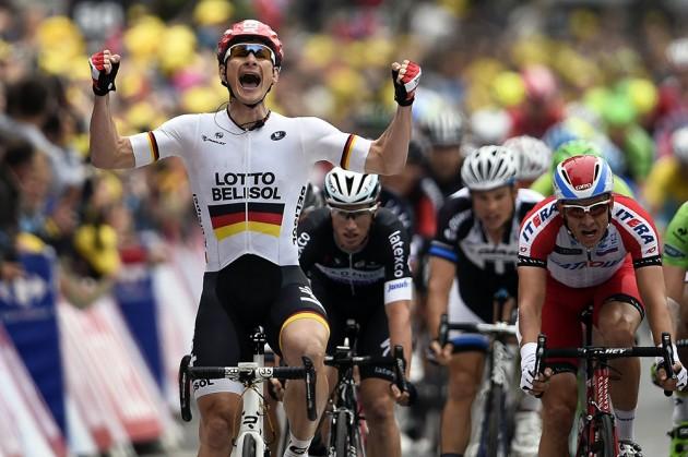 Andre Greipel a castigat etapa a II-a a Turului Frantei