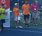 Nadia Comaneci si Pete Sampras, la Special Olympics Unified Sports