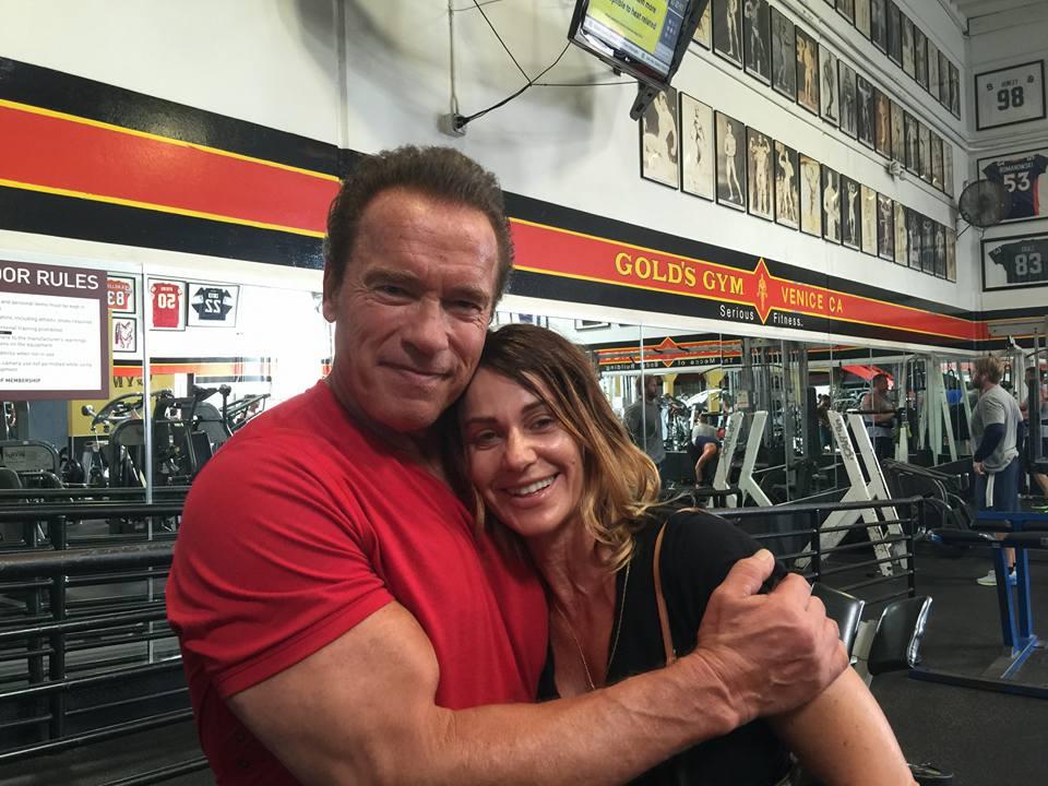 Nadia Comaneci si Arnold