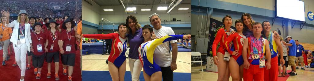 Nadia Comaneci, alaturi de Special Olympics Romania