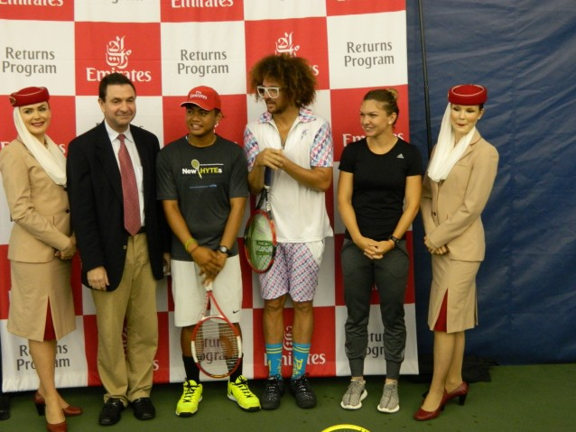 Desi s-a retras din turneu, Simona Halep a mers la New Haven