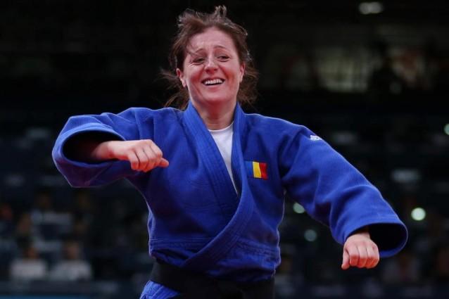 Corina Caprioriu, argind la mondialele de judo