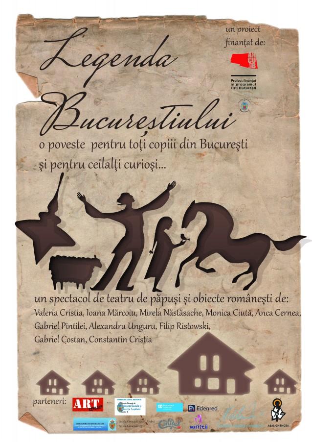 Fundatia Nadia Comaneci sustine Legenda Bucurestiului