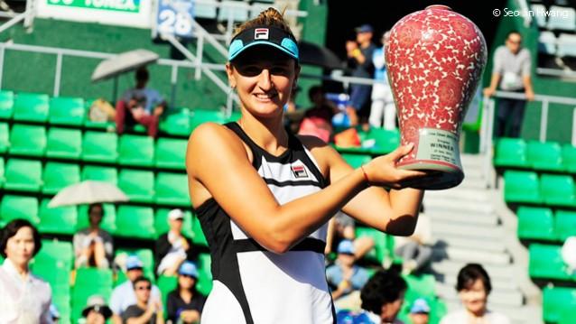 Irina Begu a castigat turneul de la Seul