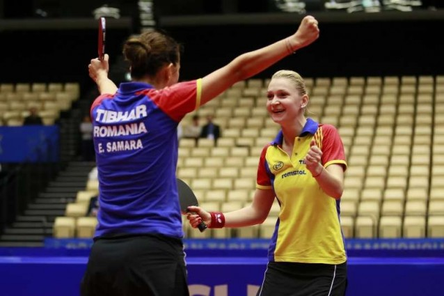 Argint pentru Romania la Campionatele Europene de tenis de masa