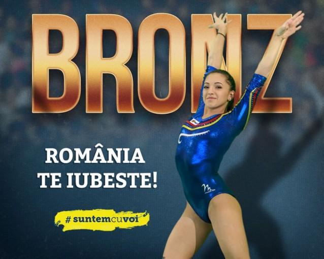 Foto: Facebook Lotul feminin de gimnastica al Romaniei