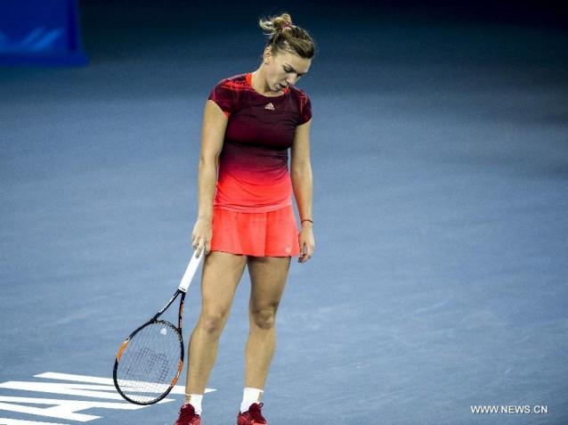Simona Halep a fost eliminata in optimi de la turneul din Dubai