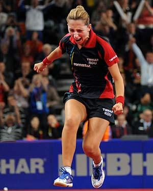 Eliza Samara, aur pentru Romania la Europenele de tenis de masa