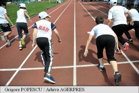 Peste 1.400 de elevi participa la Kids Sport Festival