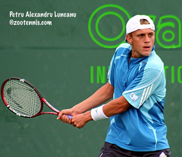 Tenismanul Alex Luncanu, calificat in optimile turneului challenger de la Andria (Italia)