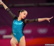 Echipa mixta de gimnastica artistica Larisa Iordache si Marius Berbecar, locul 2 la Swiss Cup
