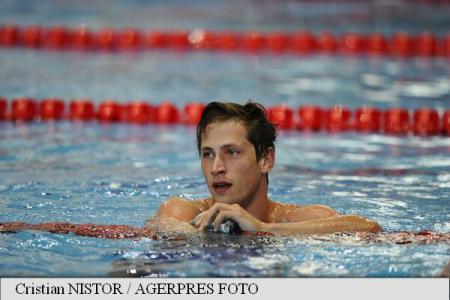 Marius Radu, nou record national la 100 m liber