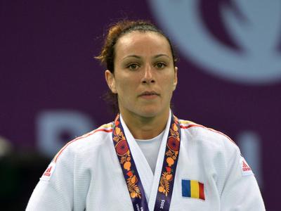 Andreea Chitu, argint la Grand Slam-ul de la Paris. Sursa foto: Mediafax