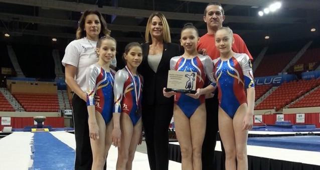 """Romania, medaliata la """"Nadia Comaneci Invitational"""""""