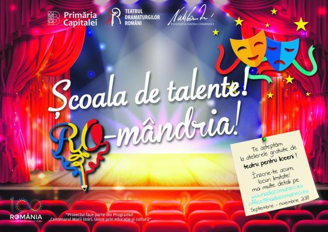 Grupe complete la atelierele gratuite de teatru, muzică și dans